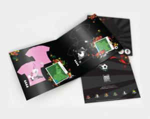 Graphic Design Bhingo booklet
