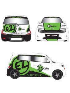 Graphic Design EZ Van