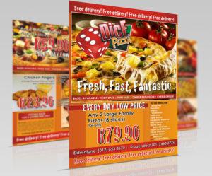Graphic Design Gdice flyer