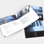 Graphic Design aocassim brochure
