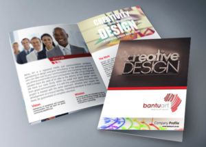 Graphic Design Bantu art