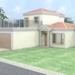 Architectural 3D 22 House external view