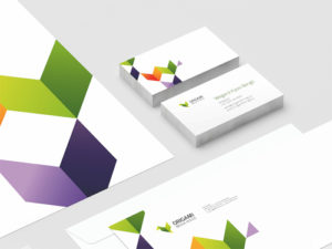 Corporate identity Origami