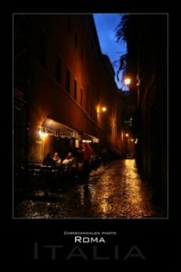 Photography A2 velvet streets rome