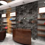 Architectural 3D Chic Couture interior view 2