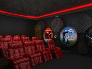 Architectural 3D House Tladi Moabi Cinema room revised 2 camera 3