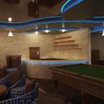 Architectural 3D Mediterraneon Hotel Cigar lounge camera 4