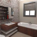 Architectural 3D Saresco Illustrations Bathroom 1
