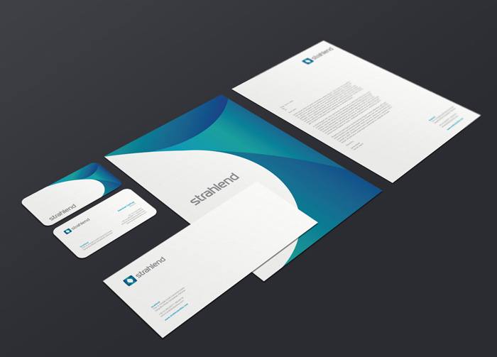 Corporate identity Strahlend MOCKUP FINAL