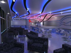 Architectural 3D Turffontein Bar Night time cam 1
