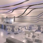 Architectural 3D Turffontein Bar camera 1 Day time