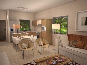 Architectural 3D Valriche Estate Unit E Option 3 final cam 1