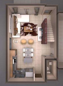 Architectural 3D Valriche Estate Unit E Option 3 final plan