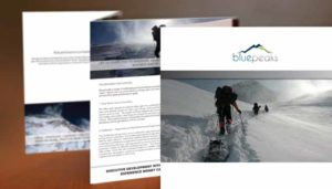 Brochures bluepeaks