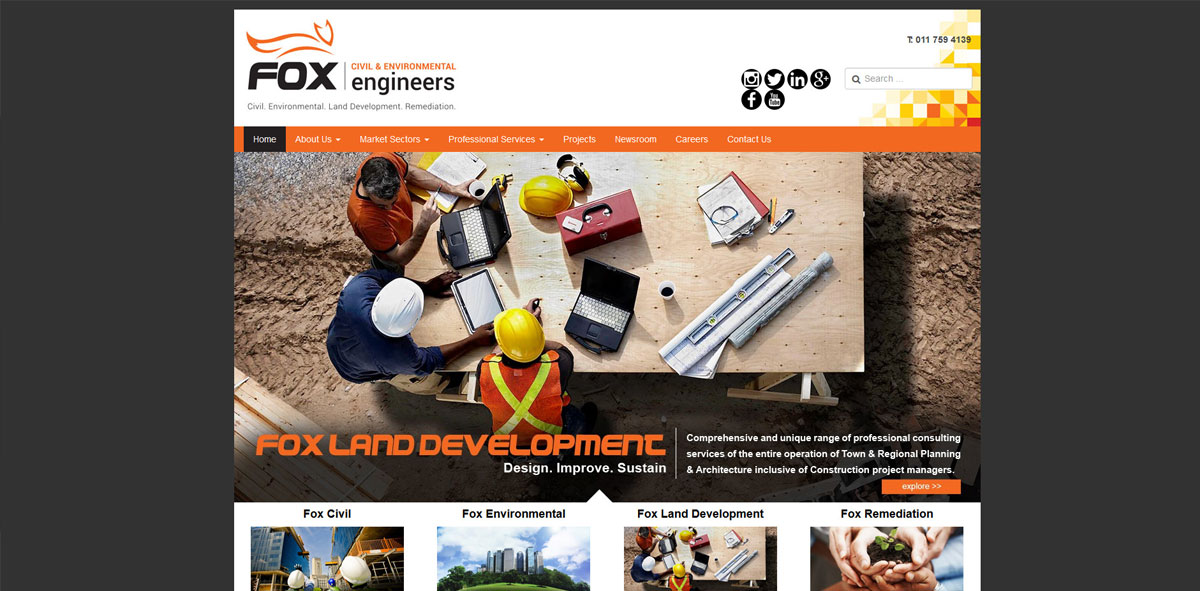 Website Design fox