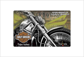 Card design harley davidson