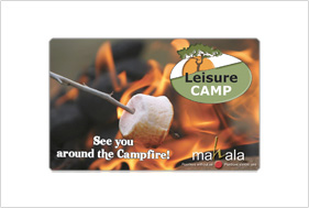 Card design leisurecamp