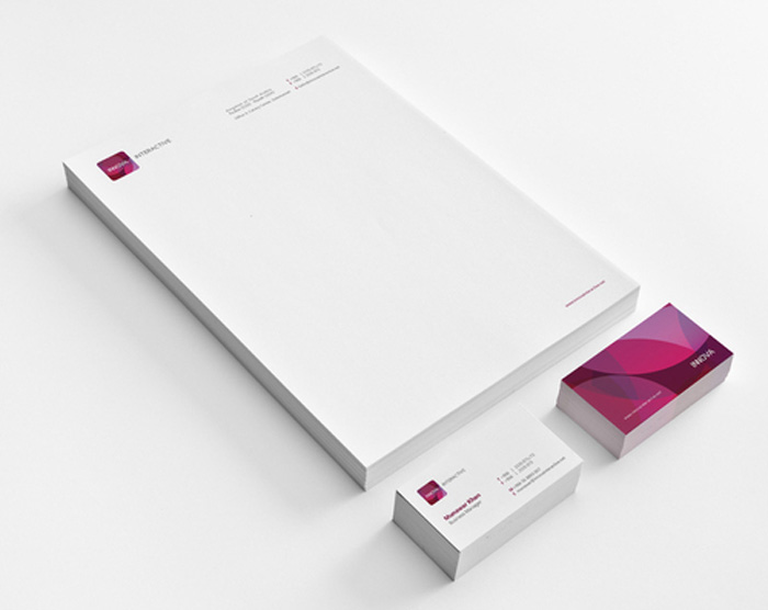 Corporate identity letterhead design 03