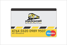 Card design metrorail