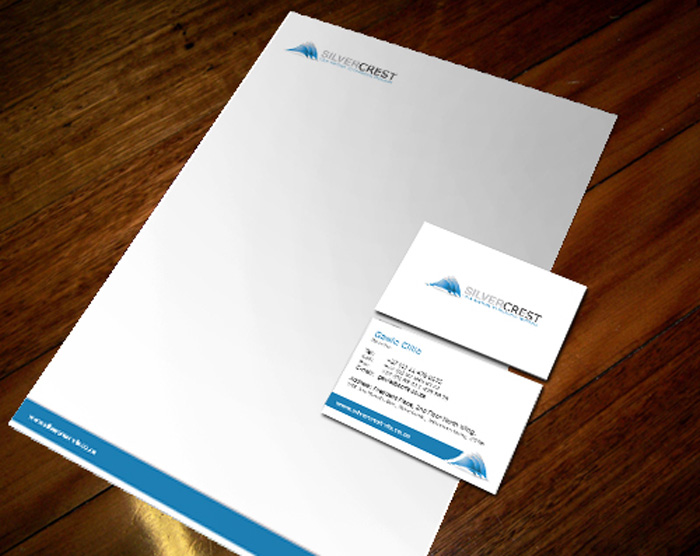 Corporate identity silvercrest