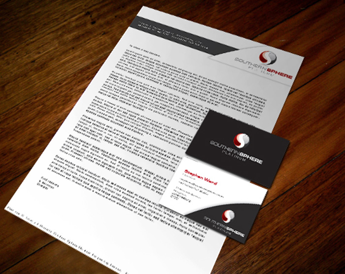 Corporate identity southern sphere