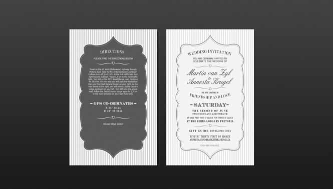 Brochures wedding