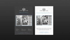 Brochures Paper pearl