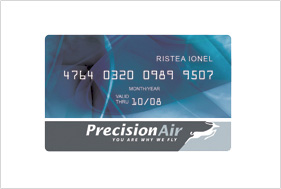 Card design precisionair