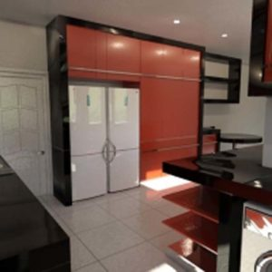 Architectural 3D residential kitchen 20110113 1026591915