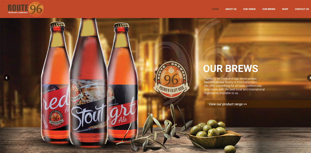 Website Design route96
