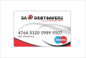 Card design sadebtsavers