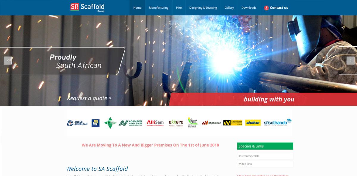 Website Design sascaffold