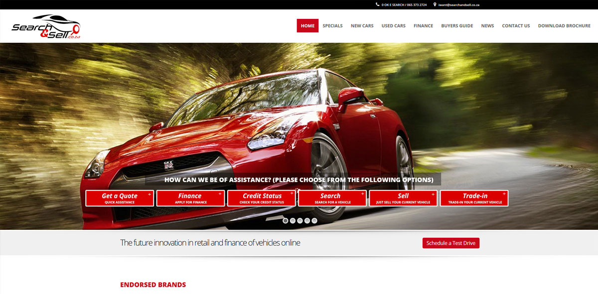 Website Design searchsell
