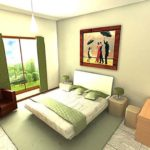 Architectural 3D sheffield housing resill3
