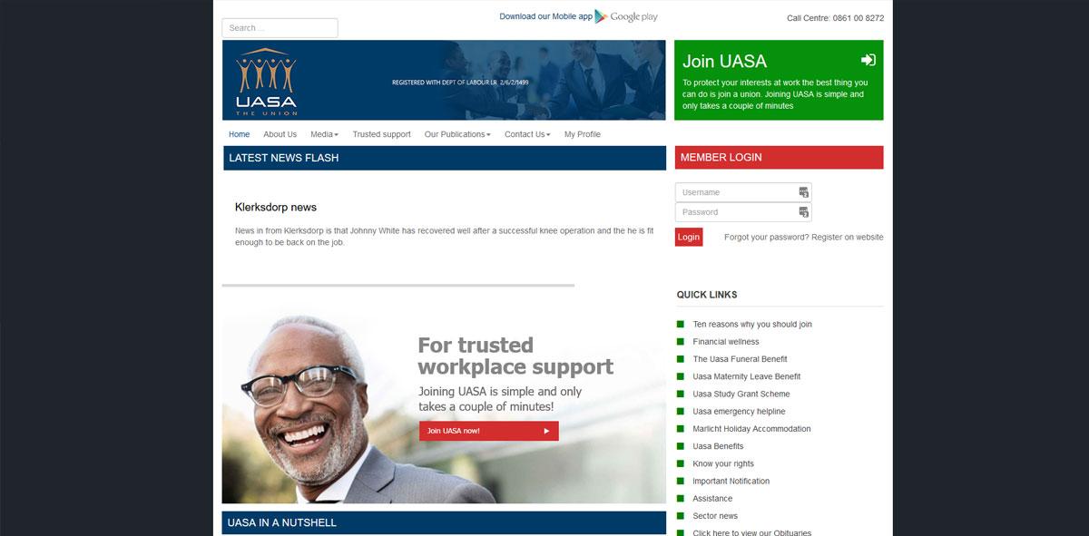 Website Design uasa