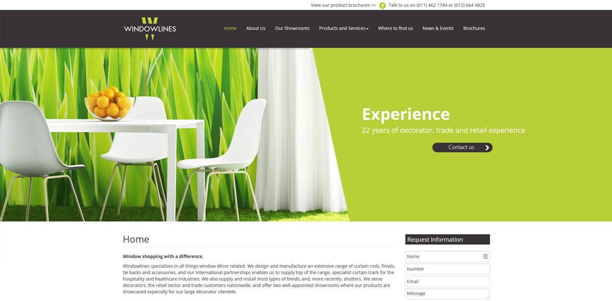 Website Design windowlines